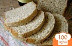 Фото рецепта: «Хлеб с вином»