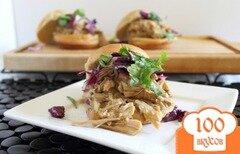Фото рецепта: «Мексиканский гамбургер со свининой»