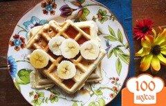Фото рецепта: «Банановые вафли»