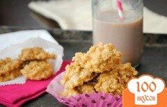 Фото рецепта: «Карамельное овсяное печенье»