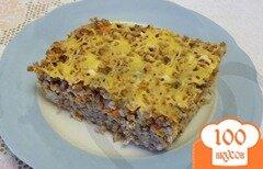 Фото рецепта: «Запеканка из гречки с фаршем»