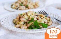 Фото рецепта: «Салат из тунца и белой фасоли»