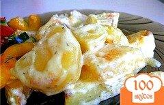Фото рецепта: «Картофель в сливках в мультиварке»