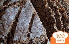 Фото рецепта: «Ржаной хлеб с овсом и финиками»