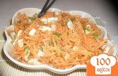 Фото рецепта: «Морковь по-корейски с кальмарами»