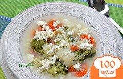 Фото рецепта: «Быстрый овощной суп с кус-кусом»