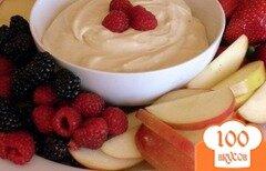 Фото рецепта: «Соус-дип для фруктов»