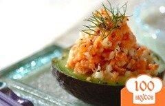Фото рецепта: «Тартар из лосося с авокадо»