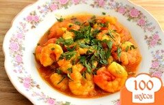 Фото рецепта: «Креветки с карри»