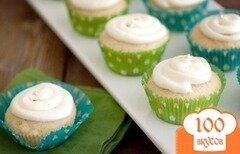 Фото рецепта: «Лимонно-кокосовые кексы»