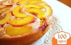 Фото рецепта: «Персиковый пирог»