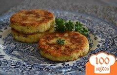 Фото рецепта: «Картофельные биточки с куриным мясом»