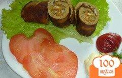 Фото рецепта: «Рулетики из печени»
