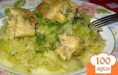 Фото рецепта: «Тушеная капуста с мясом без томата.»