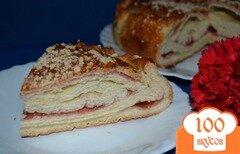 Фото рецепта: «Катлы-паштет (слоеный пирог) с джемом»