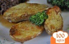 Фото рецепта: «Картофель молодой с солью из приправ»