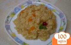 Фото рецепта: «Рис сечка в томате с фасолью»