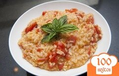 Фото рецепта: «Ризотто с помидорами»