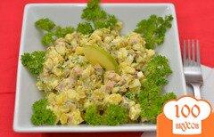 Фото рецепта: «Оригинальный салат Оливье»