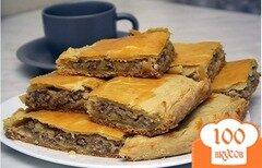 Фото рецепта: «Пирог с сыром и мясом»