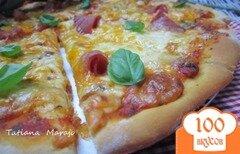 Фото рецепта: «Сырная пицца»