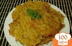 Фото рецепта: «Драники из картофеля и тыквы»
