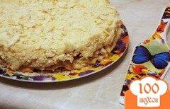 """Фото рецепта: «Торт """"Наполеон"""" на пиве»"""