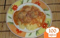 Фото рецепта: «Фрикадельки в соусе»