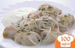 Фото рецепта: «Грузди соленые со сметаной»