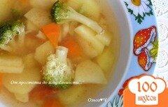 Фото рецепта: «Овощной суп с брокколи»