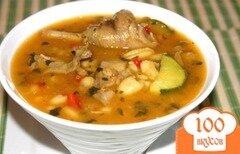 Фото рецепта: «Суп с рисом и картошкой»