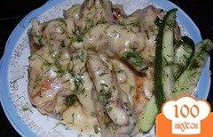 Фото рецепта: «Курица в сметане»