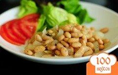Фото рецепта: «Белая фасоль с луком»
