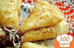 Фото рецепта: «Вкусные сырные блины»