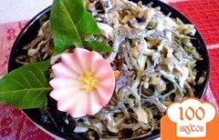 Фото рецепта: «Морская капуста с мидиями»