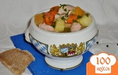 Фото рецепта: «Айнтопф с репой (Kohlrübeneintopf)»