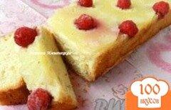 Фото рецепта: «Пирог с консервироваными ананасами»