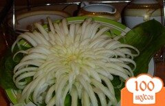 Фото рецепта: «Хризантема из пекинской капусты»