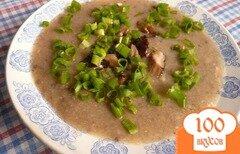 Фото рецепта: «Суп-пюре из грибов и картофеля»