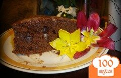 """Фото рецепта: «Шоколадный торт """"Весенний""""»"""