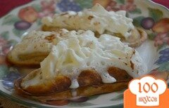 Фото рецепта: «Вафли со вкусом корицы»
