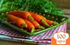 Фото рецепта: «Молодая морковь на гарнир»