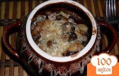 Фото рецепта: «Картошка, которая спряталась в горшочках»