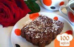 Фото рецепта: «Шоколадный пирог на кипятке»