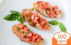 Фото рецепта: «Брускетта с овощами»