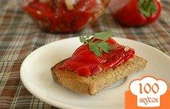 Фото рецепта: «Закусочные печеные перцы»