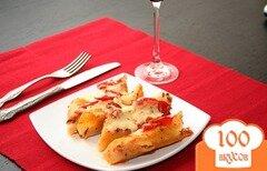 Фото рецепта: «Каннеллони с индейкой по-итальянски»