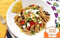 Фото рецепта: «Паста по-мексикански»