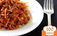 Фото рецепта: «Мясной соус к спагетти»