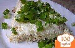 Фото рецепта: «Рисовая запеканка с курицей»